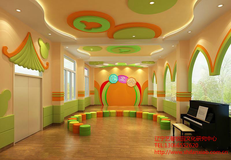 校园亭廊设计 校园雕塑设计
