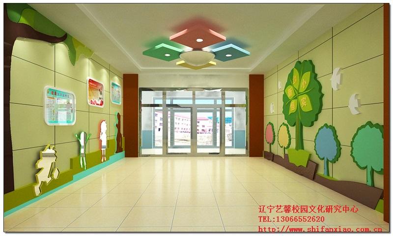 幼儿园走廊文化设计展示