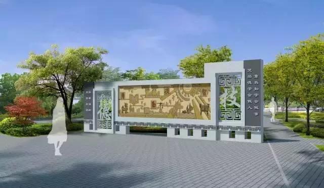 典雅的校园环境设计