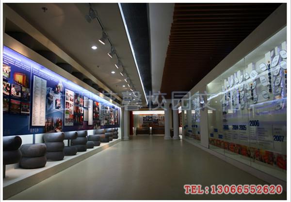 学校校史馆设计_校园文化|校园景观设计|学校走廊