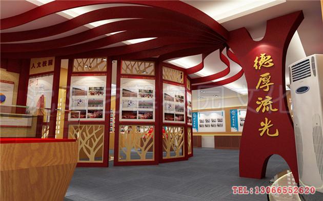 校园走廊文化建设设计效果图