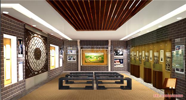 学校主题厅馆文化建设效果图_校园文化|校园景观设计