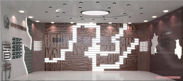 學校主題廳館文化建設效果圖_校園文化|校園景觀設計